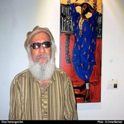 نمایشگاه استاد احمدی نسب