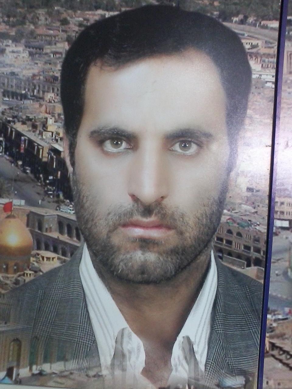 مرحوم صادق زارع فرزند شهید کاظم زارع  شحنه