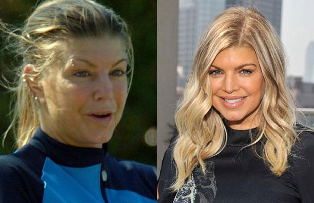 New Photo of movie starsستاره ها بدون آرایش چه شکلی می شوند؟