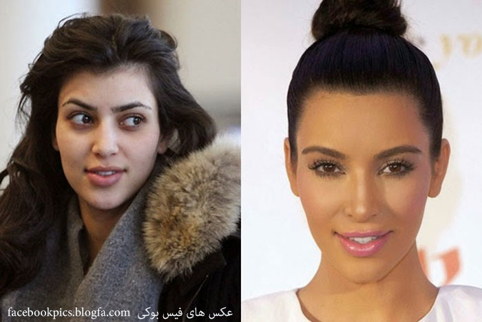 It's Hard to Recognize Kim Kardashian Without Make-up! Check This Out!