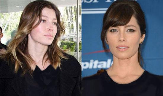 تصاویر جدید بازیگران بدون آرایش+عکس جسیکا بدون آرایش