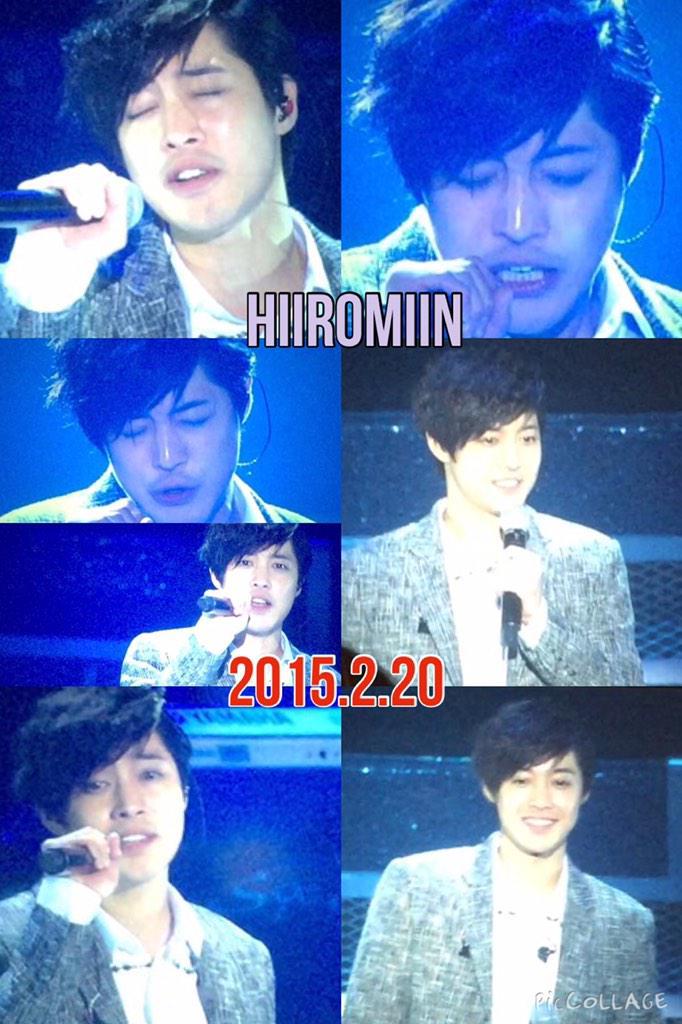 [Fanpic] Kim Hyun Joong Japan Tour 2015 GEMINI in Makuhari Last Concert [15.02.20]