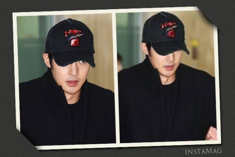 [Media Photo + Video] Kim Hyun Joong - Gimpo Airport Arrival from Japan [15.02.21]