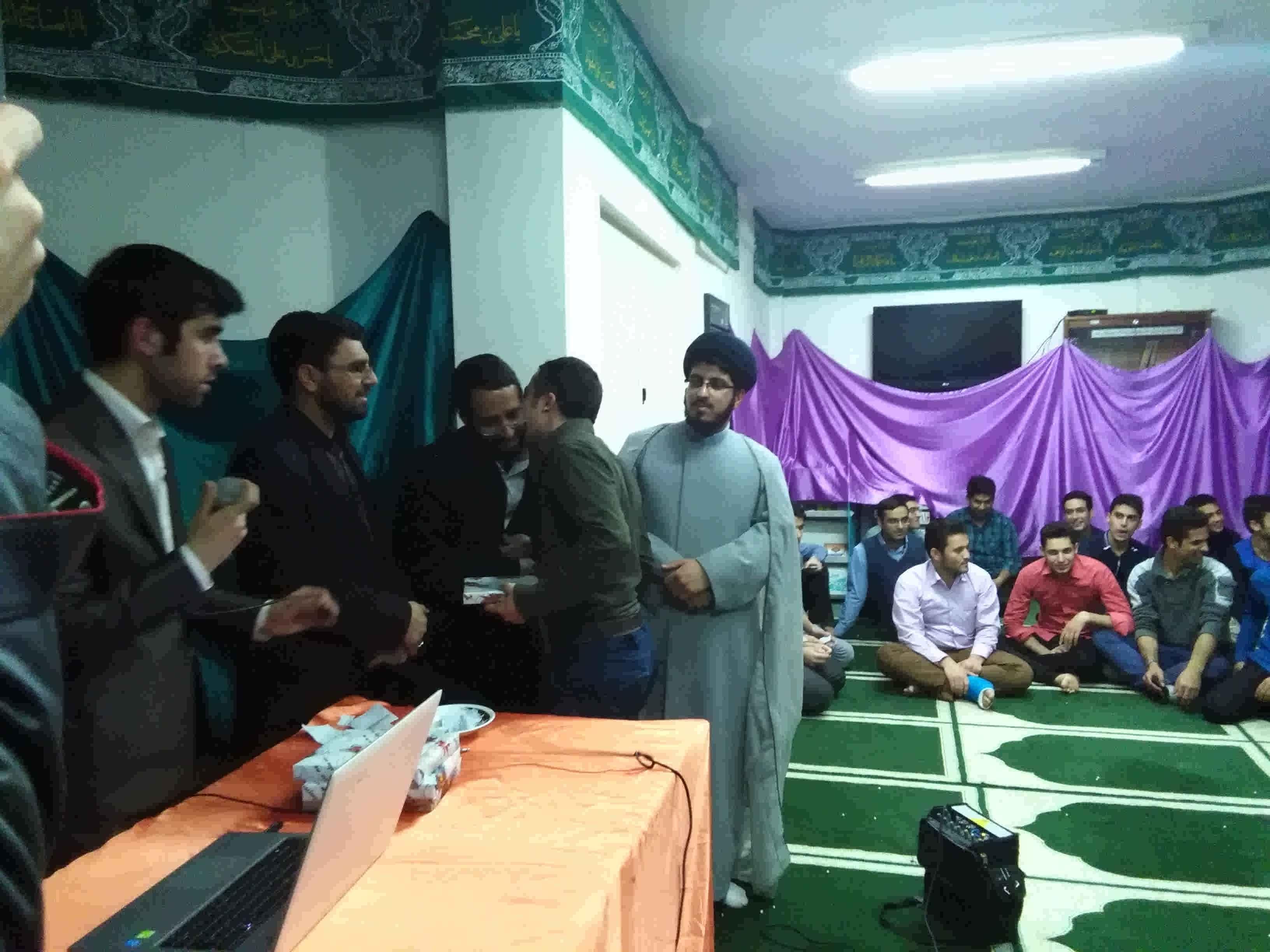 برگزاری جشن میلاد حضرت زینب (س) و روز پرستار در خوابگاه های زینب و فجر