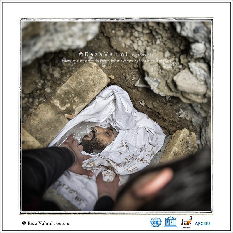 عکس مدافع حرم که ثبت جهانی شد