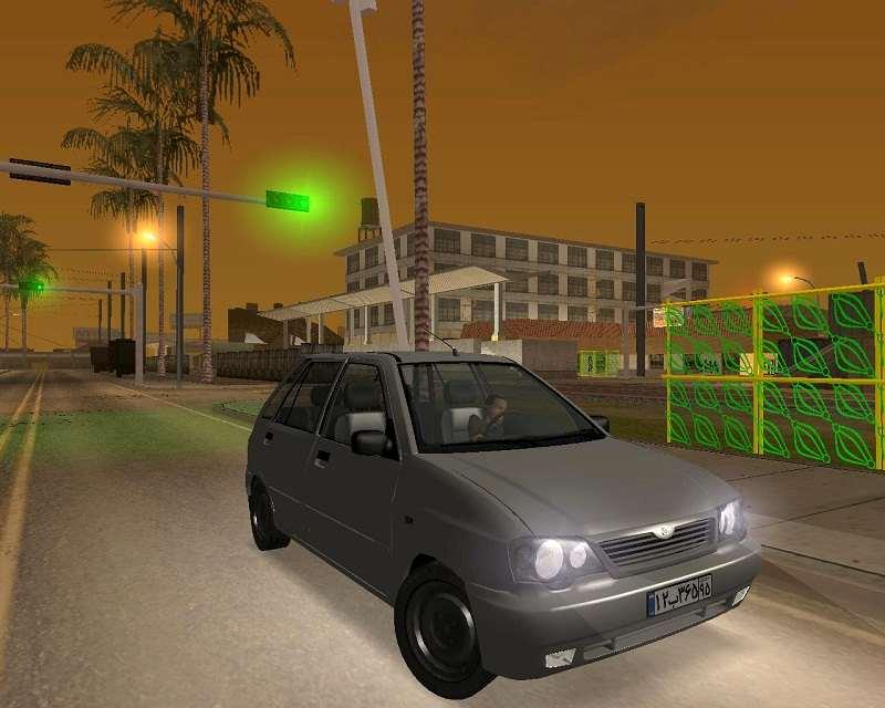 دانلود پراید 111برای GTA SA