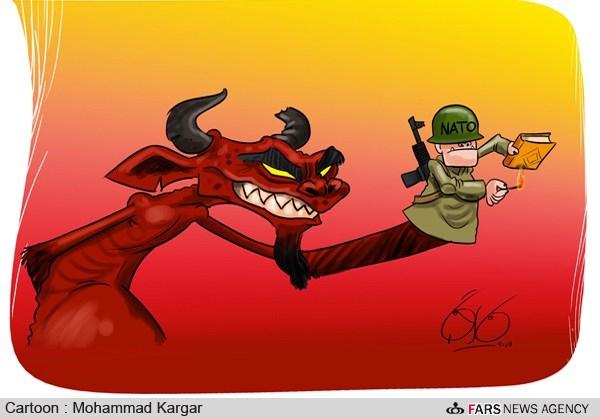 فراماسونری-شیطان-شیطان پزستی-رائفی پور-حزب شیطان-حمله آمریکا به ایران