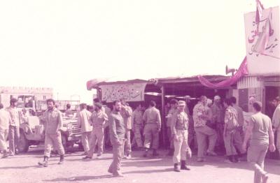 ایستگاه صلواتی نزدیک حسینیه