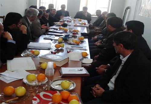 برگزاری جلسه شورای اداری شهر دیباج/تصاویر