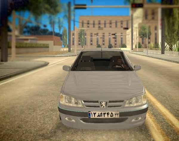 پژو پارس برای GTA SA