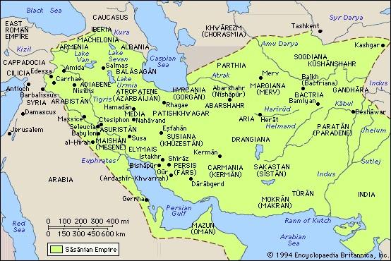 نقشه ایران کهن