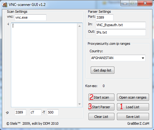 ip Ranges Scanner  Ipscn