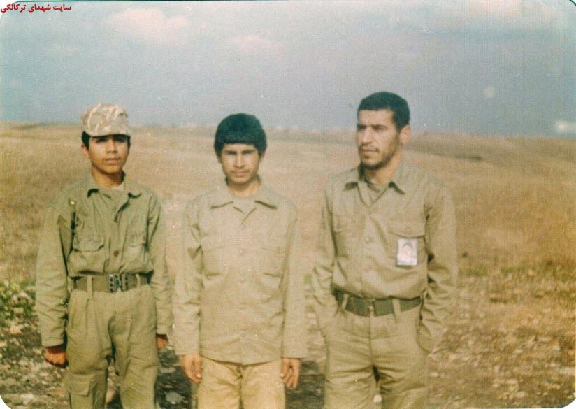 7  عکس از شهدا و سلحشوران شهر ترکالکی 54