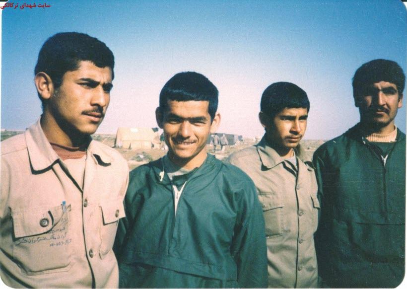 11  عکس از شهدا و سلحشوران شهر ترکالکی 54