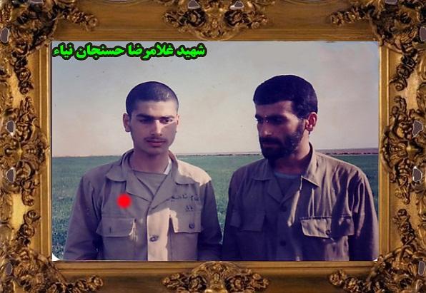 شهید غلامرضا حسنجانی کشتلی