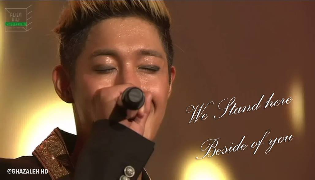 We Stand Here...Beside You,Hyun Joong By Ghazaleh HD