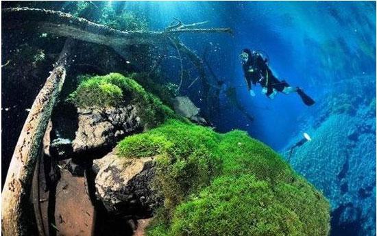 دریاچه مرموز برزیل