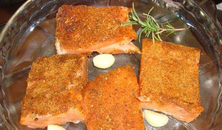 کته با ماهی سالمون,طرز تهیه کته در پلوپز