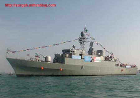 ناوشکن پیشرفته «دماوند» به نیروی دریایی ارتش ملحق شد