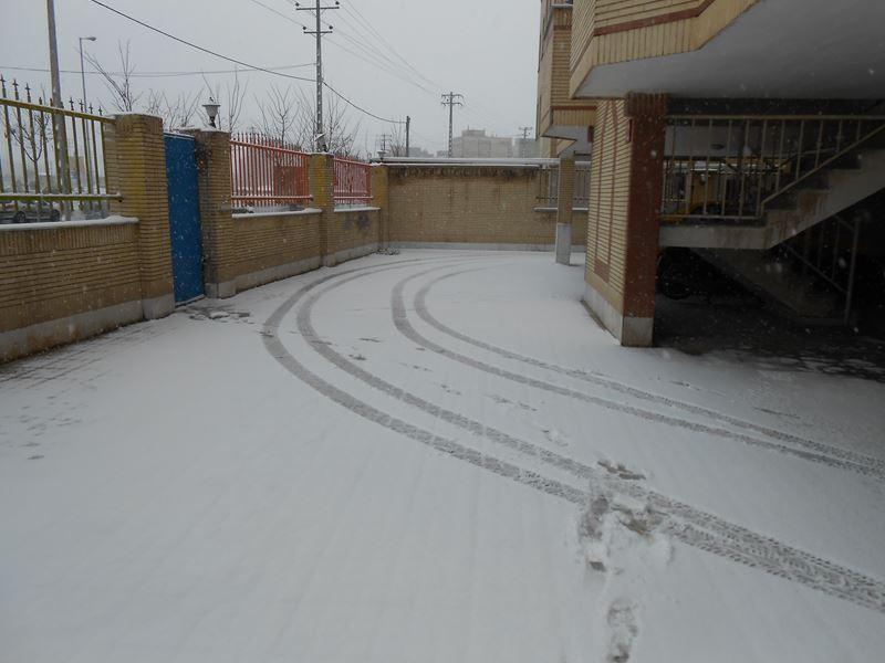 بارش برف در نوزدهمین روز اسفند
