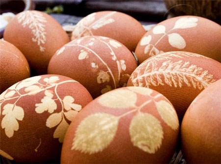 روشی برای طرح دار کردن تخم مرغهای هفت سین