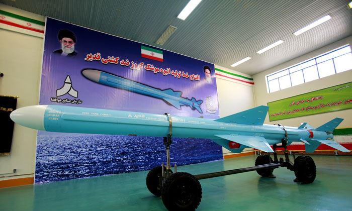 افتتاح خط تولید انبوه موشک کروز دریایی قدیر+عکس
