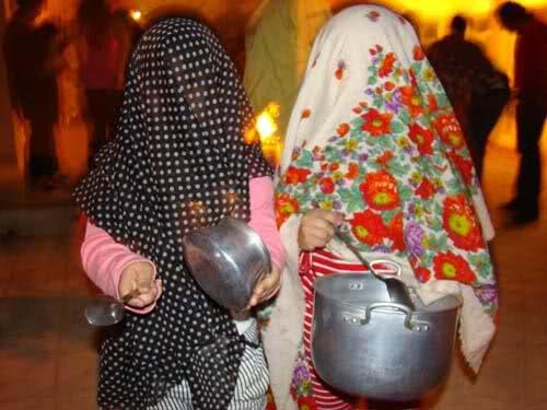 قاشق زنی چهارشنبه سوری