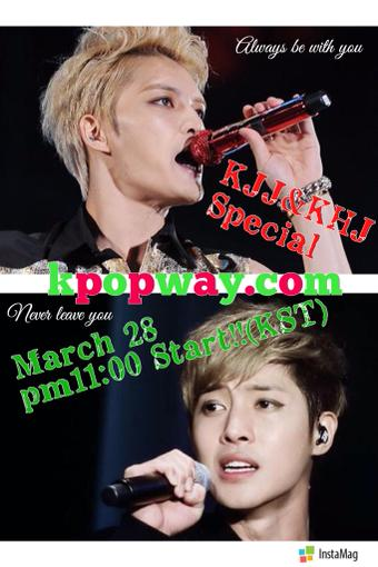 Kpopway 28 March Special Features