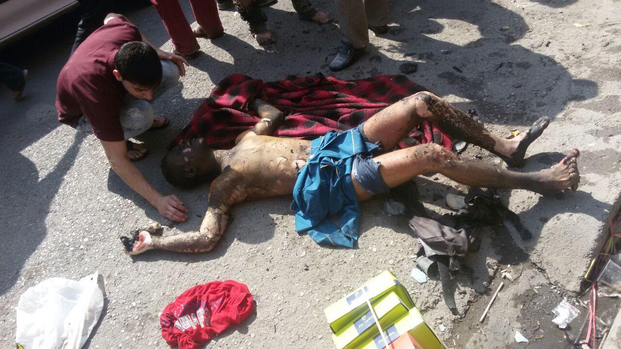 ۴ مجروح در پی انفجار ترقه در دزفول (عکس +۱۸)
