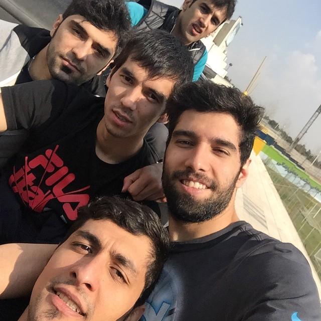 عکسهای جدید والیبالیست های ایرانی فروردین 94 سری 9