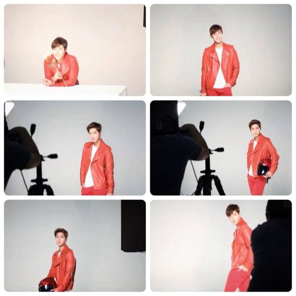 [Photos] Kim Hyun Joong Japan Mobile Site Update - Lotte Duty Free Shop Ad Shooting [2015.03.19]