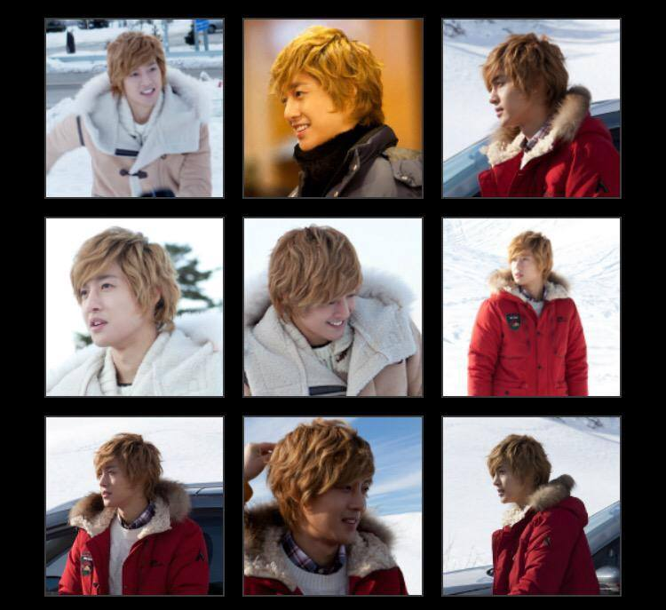 Kim Hyun Joong Official Mobile Site Gallery 2010.12~2012.12