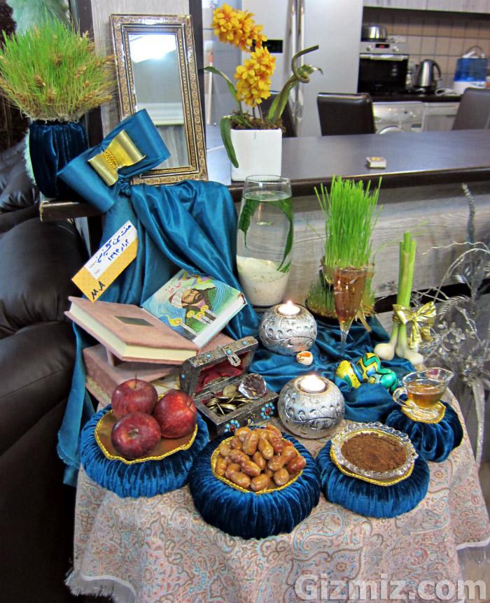 سفره هفت سین سنتی96 پاتوق ايروني: زیباترین سفره هفت سین امسال را انتخاب کنید