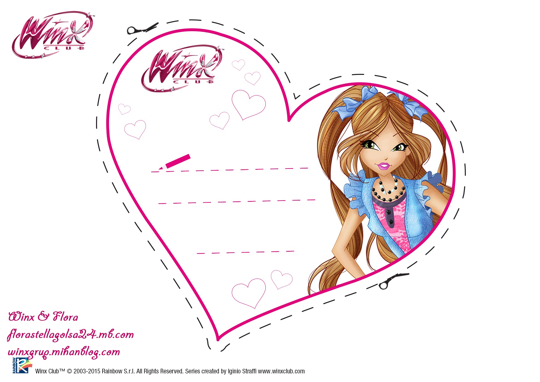Winx & Flora / وینکس & فلورا / یکی از بهترینو بروز ترین وبای وینکسی