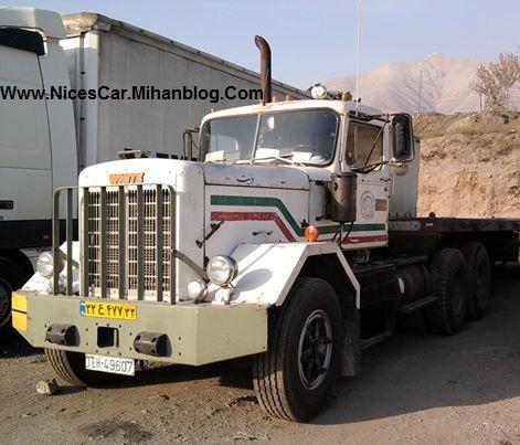 کامیون وایت فابریک در ایران