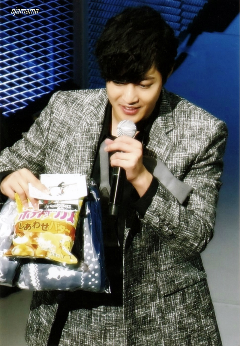 Potato Chips Honey Butter of Calbee in The GEMINI Yokohama Second Day of Stage