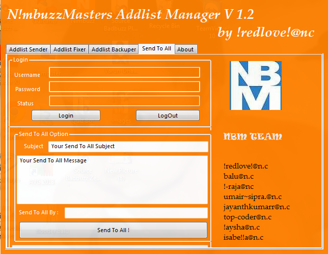 NimbuzzMasters AddlistManager The best   Nbm114