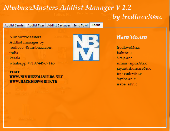 NimbuzzMasters AddlistManager The best   Nbm115