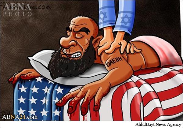 داعش مهرهای در دستان آمریکا و اسرائیل