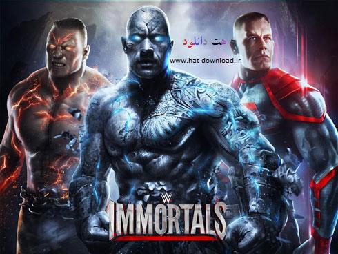 بازی کشتی کج (برای اندروید) - WWE Immortals 1.1.1 Android