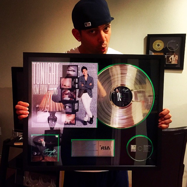 Album Kim Hyun Joong Tonight Was Certified Platinum - Update Instagram Michael Angelo - 2015.04.04