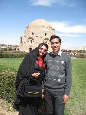 گنبد جبلیه کرمان ( نوروز 1394 )