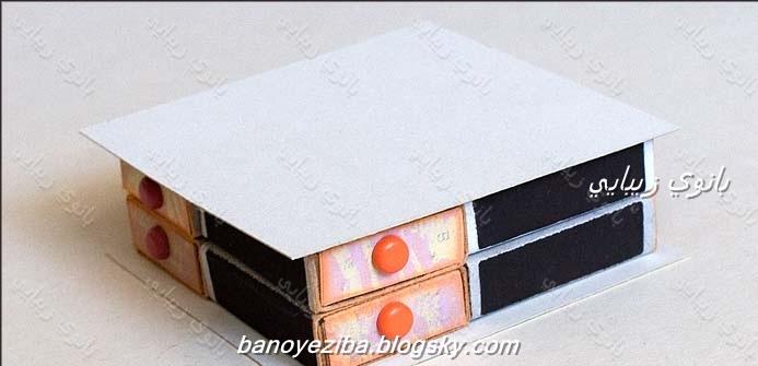 طرح های قوطی ه کارو فناوری«صنایع دستی» - کاردستی خوشگل با قوطی کبریت