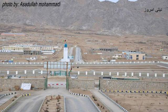گزارشی تصویر از شهرک جدید مرکز ولایت دایکندی- شهر نیلی1393