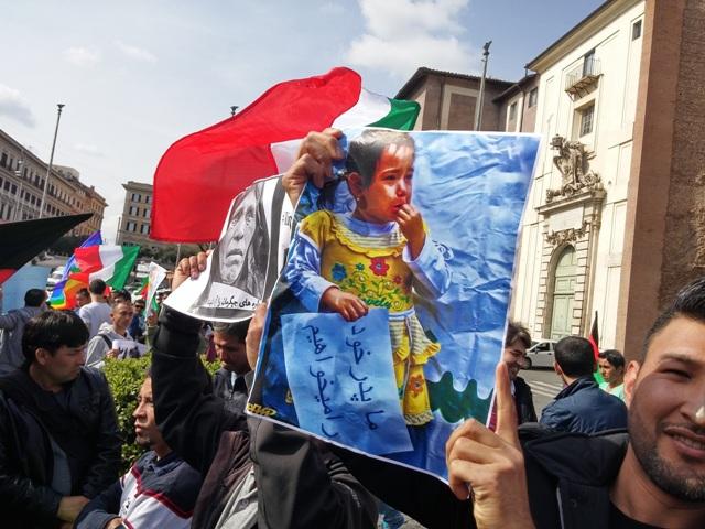 تظاهرات جهانی و مردمی برای رهایی ۳۱ مسافر ربوده شده هزاره