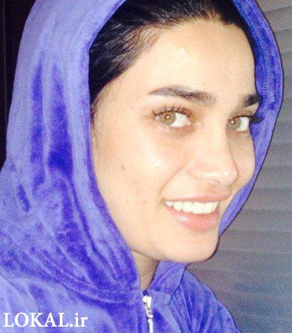 انتشار 2 عکس بدون آرایش از تینا آخوندتبار