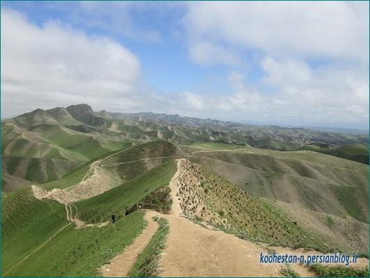مسیر گورستان خالد نبی