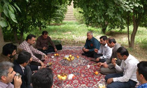 بازدید مدیر عامل ابفای خوزستان از تاسیسات اب شهر سماله