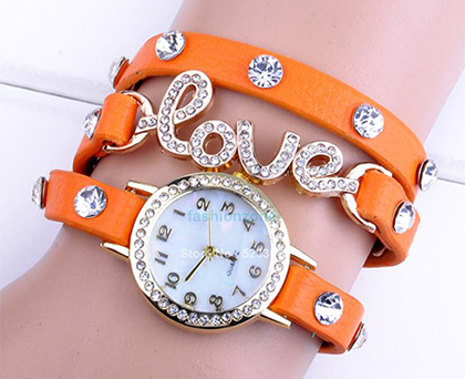 خرید ساعت طرح عشق