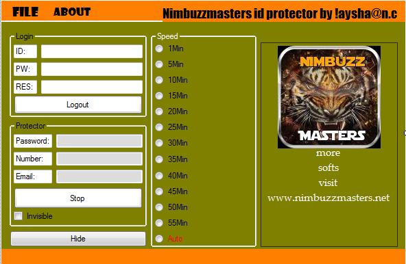 NimbuzzMasters Nimbuzz ID protector  Nbmvbb